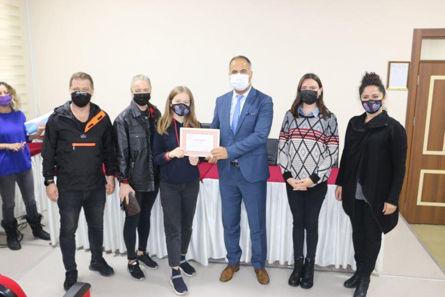 Sosyal Mesafeye Uyum ve Maske Kullanımı Konulu Slogan Yarışması Ödülleri Verildi