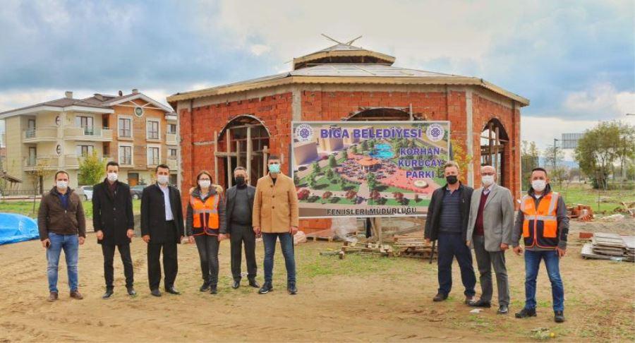 Cumhur İttifakı Biga Belediyesi İmkânları İle Yapılan Projeleri İnceledi