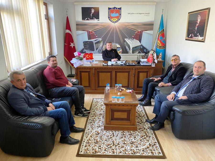Biga Adaspor Futbol Kulübünden Oda Başkanlarına Ziyaret