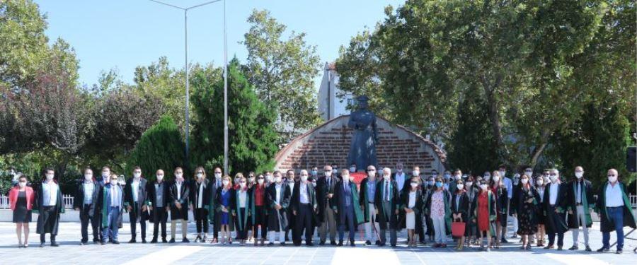 Çanakkale'de 2020 2021 Adli Yılı Törenle Açıldı