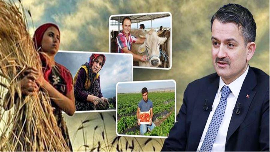 Bakan Pakdemirli: Gençlerimize Ve Kadın Çiftçilerimize, %50 Hibe Desteği Hayırlı Olsun