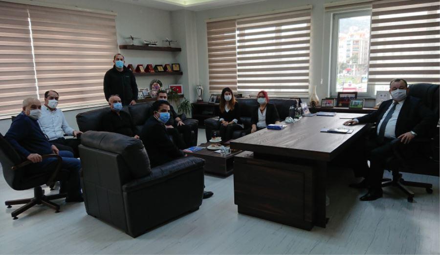 Biga İİBF Dekanından Biga TSO'ya Ziyaret