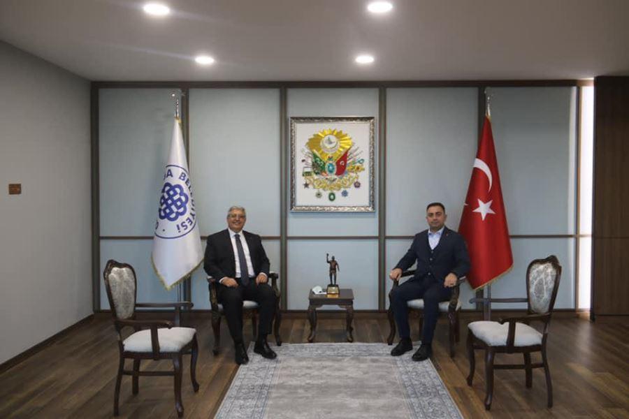 Ak Parti Genel Başkan Yardımcısı Demiröz'den Erdoğan'a Ziyaret