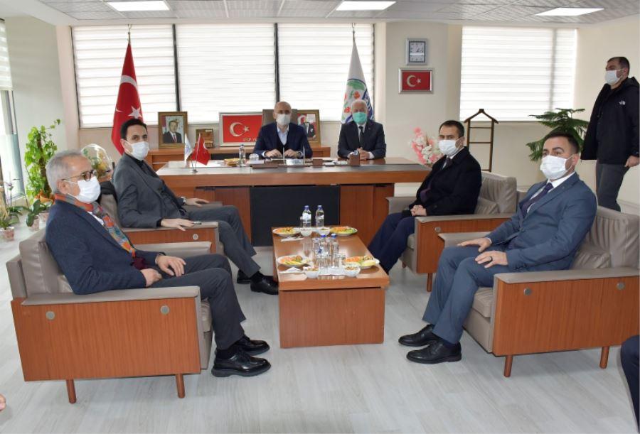 Başkan Erdoğan, Bakan Karaismailoğlu İle Buluştu