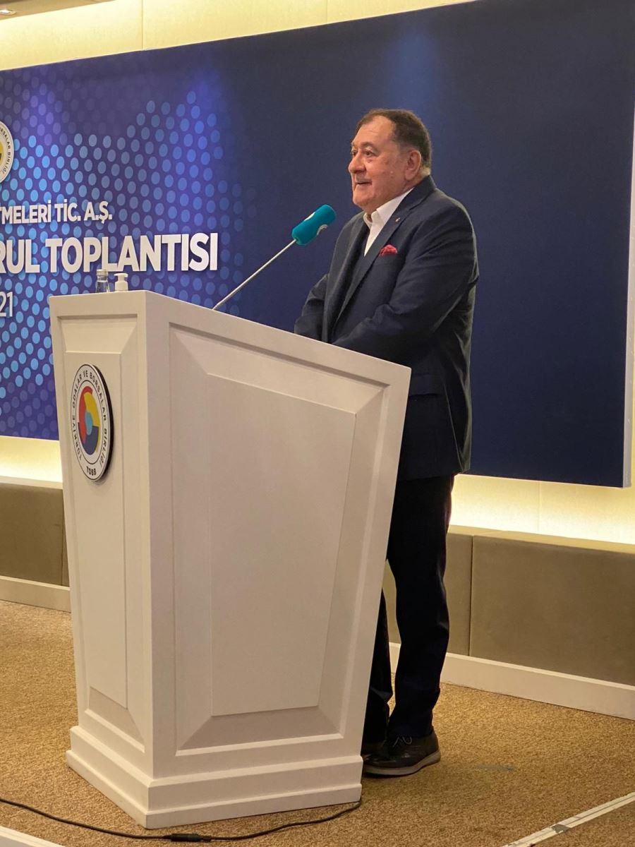 Başkan S.Kaya Üzen GTİ Olağan Genel Kuruluna Katıldı