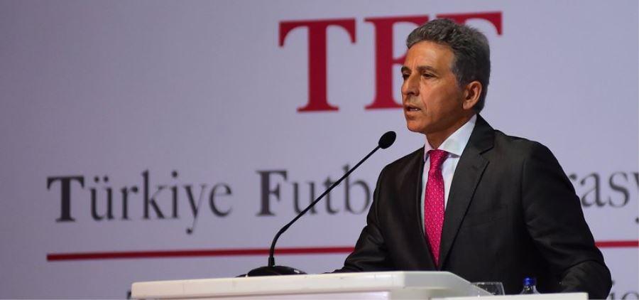Fotoğraf: TFF Yönetim Kurulu Üyesi, Amatör Kurul Başkanı, TASKK ve İASKF Genel Başkanı Ali Düşmez