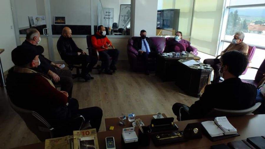 Biga Kent Konseyinden Çanakkale Ve Bandırma Kent Konseyine Ziyaret