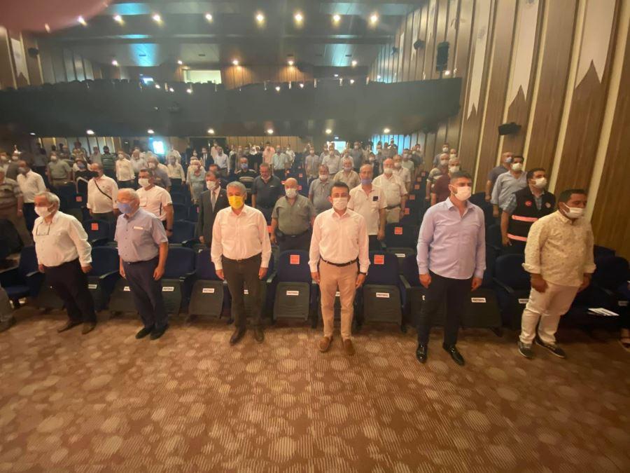 Biga İlçesi Köylere Hizmet Götürme Birliğinin 2021 Yılı Mayıs Ayı Olağan Meclis Toplantısı Yapıldı