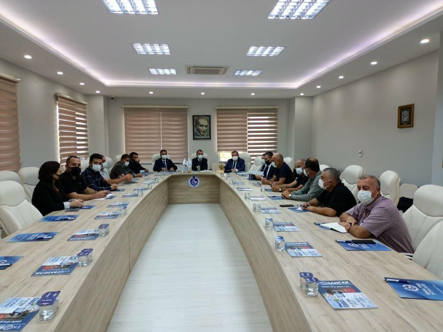 Biga Fuarı Hazırlık Toplantısı Yapıldı