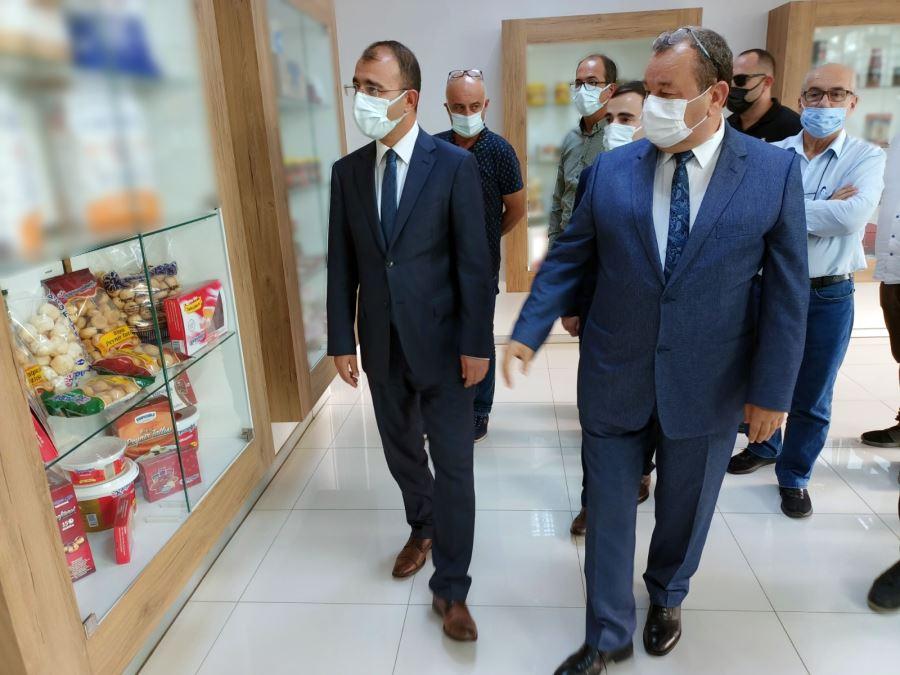 Biga Kaymakamı Erdinç Dolu'dan TSO'ya İade-i Ziyaret