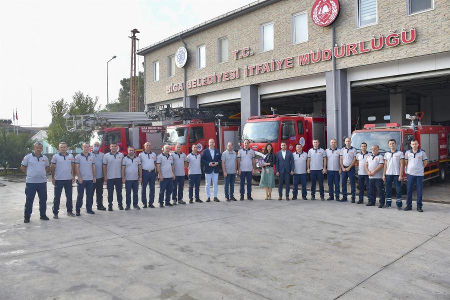 Başkan Erdoğan'dan İtfaiye Haftasında Anlamlı Ziyaret